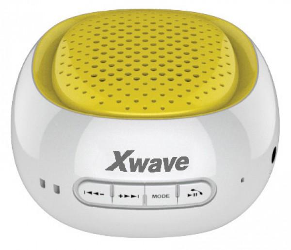 Xwave B COOL white/yellow bluetooth zvučnik