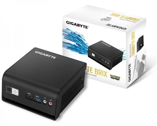 GIGABYTE GB-BLCE-4105R BRIX Mini PC Intel Quad Core J4105 1.50 GHz(2.50 GHz)