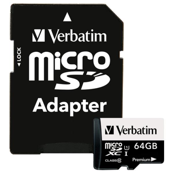 Verbatim 64GB microSD 44084