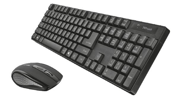 Trust XIMO bežični tastatura i miš