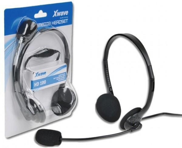 Xwave HD-100 slušalice sa mikrofonom