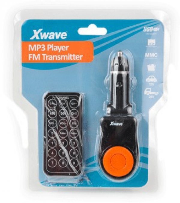 Xwave BT63 FM transmiter orange