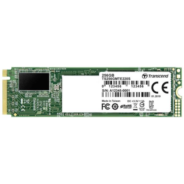 Transcend 256GB SSD M.2 NVMe TS256GMTE220S