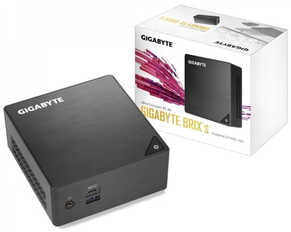 GIGABYTE GB-BLCE-4105 BRIX Mini PC Intel Quad Core J4105 1.50 GHz(2.50 GHz)