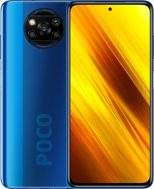 Xiaomi Poco X3 NFC 6GB/128GB Cobalt Blue