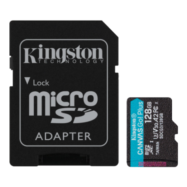 Kingston microSD 128GB SDCG3/128GB