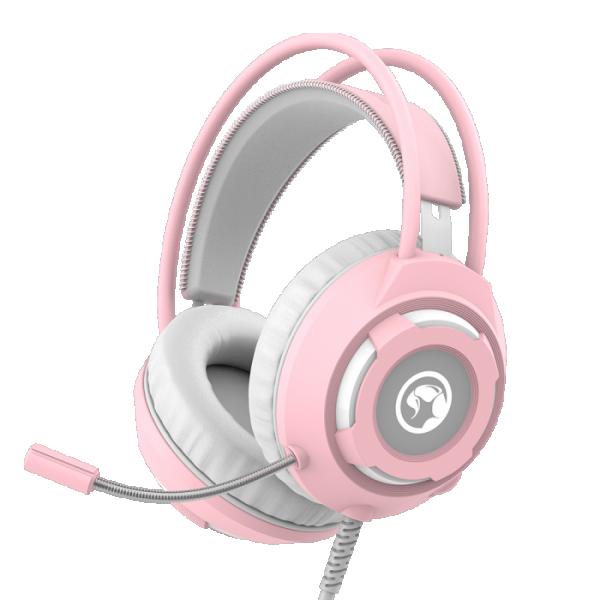 Marvo HG8936 slušalice sa mikrofonom pink