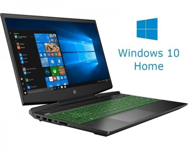 HP Pavilion 15-DK0096 15.6'' FHD i5-9300H 8GB 256GB SSD GeForce GTX 1650 4GB Backlit Win10Home crni