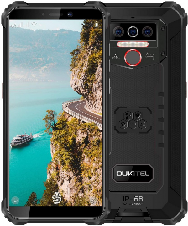 OUKITEL WP5 4GB/32GB Dual SIM Black