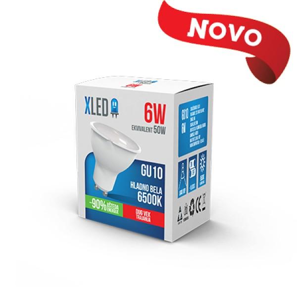 XLED GU10 6W 6500K led sijalica