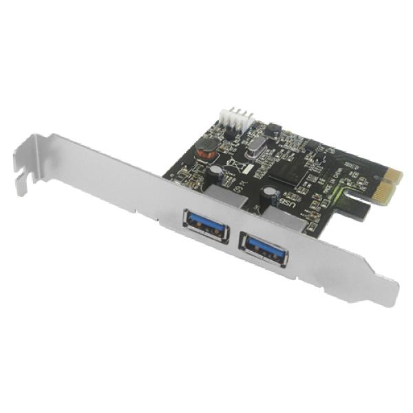 Javtec PCIe kontroler 2xUSB 3.0