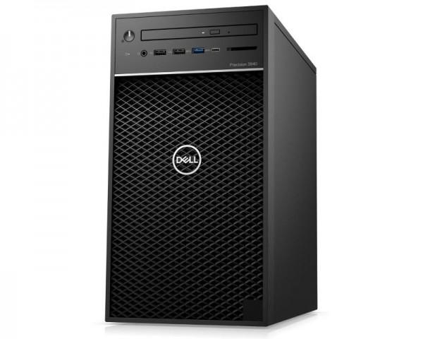 DELL Precision T3640 MT i7-10700 8GB 1TB DVDRW Ubuntu 3yr NBD