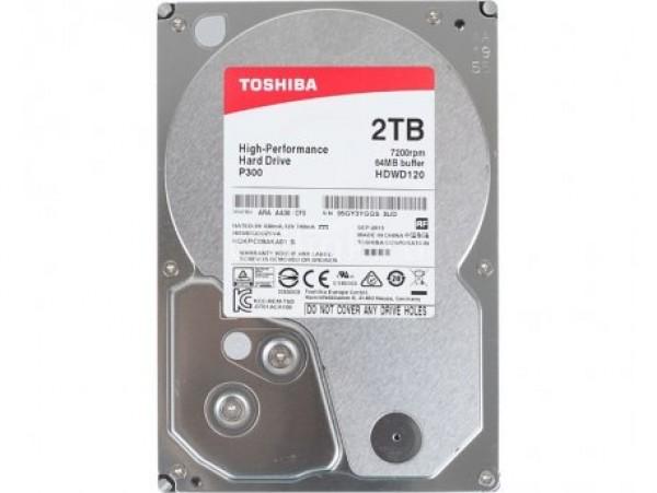 Toshiba 2TB 3,5'' SATA3 XUHDWD120UZSVA 64MB P300