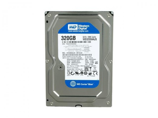 WD 320GB 3.5'' SATA3 7200rpm 8MB Blue AAJS