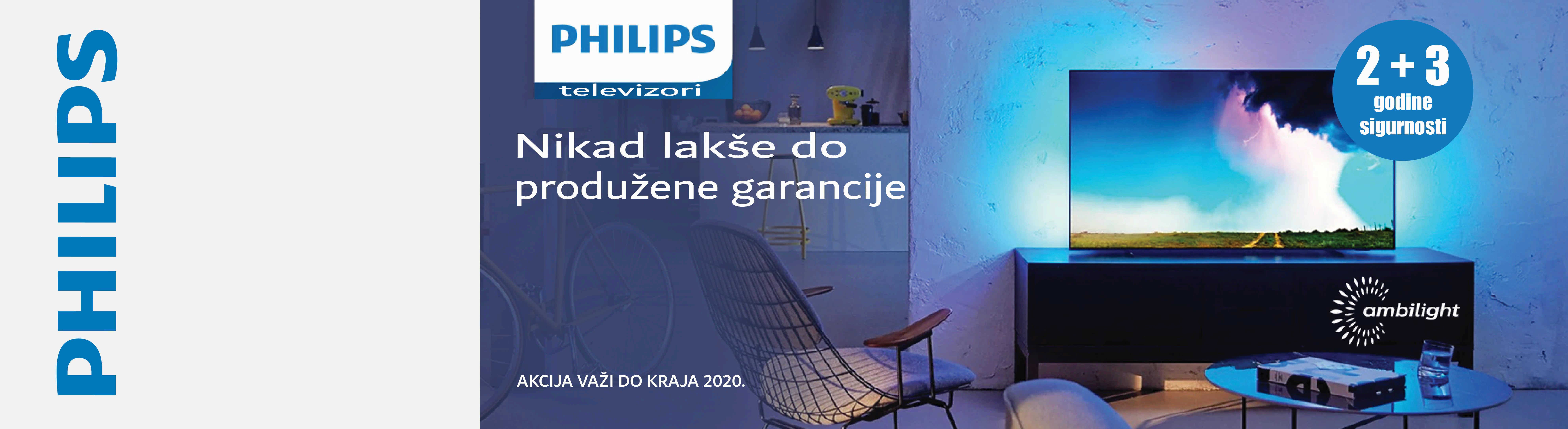 Philips 2+3 godine garancije
