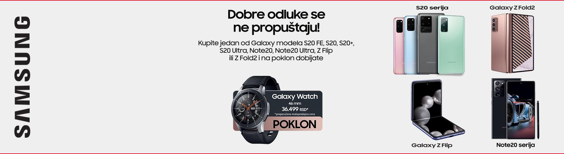 Samsung telefon i poklon sat