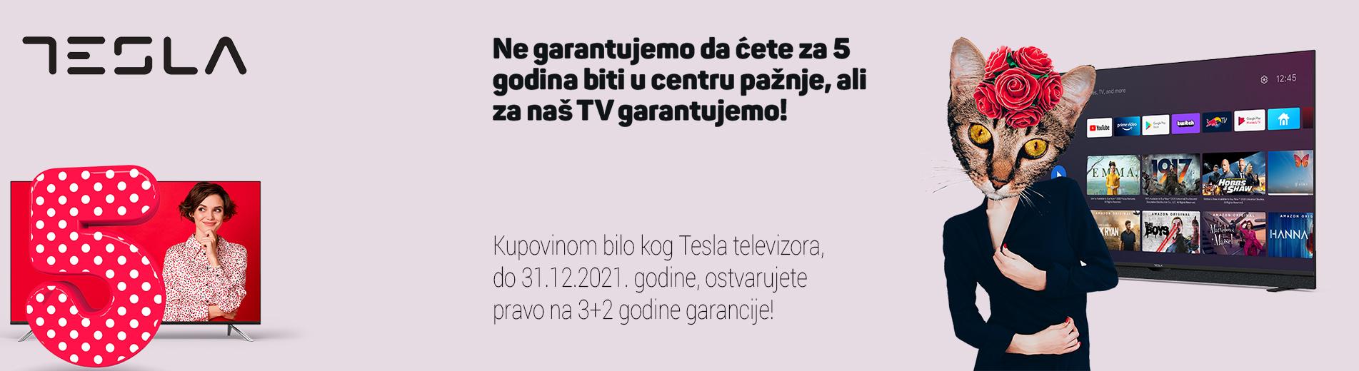 Tesla 5 godina garancije