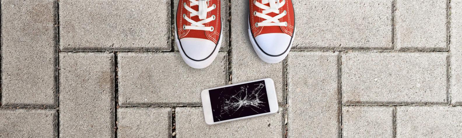 Osiguranje ekrana mobilnog telefona