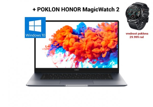 Novo na tržištu - laptop HONOR Magic Book!