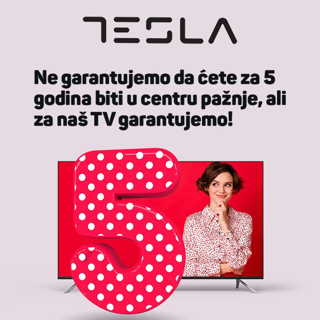 Tesla 3+2 godine garancije